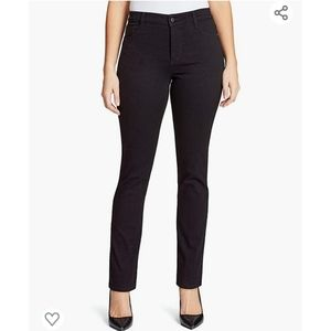 Bandolino Amy Jeans Black Size 16 High Rise